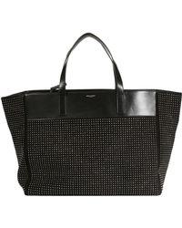 Loewe Bag Shopping Suede Studs - Lyst