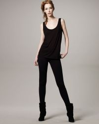 The Row Skinny Stratton Pants Midnight - Lyst