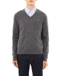 Brooks Brothers - Merino-Wool V-Neck Sweater - Lyst