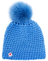 Frauenschuh - Knitted Pompom Beanie - Lyst