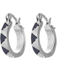 House Of Harlow Enamel Huggie Earrings - Lyst