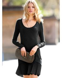 Victoria's Secret B Dropwaist Sweaterdress - Lyst