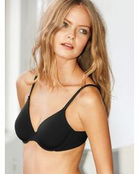 Victoria's Secret Unlined Perfect Coverage Bra - Lyst