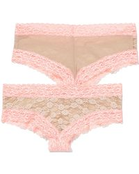 Victoria's Secret Lace Cheekster Panty Perfect Lace Strapless Bra - Lyst