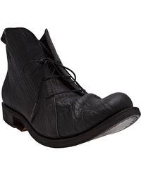 Boris Bidjan Saberi - Round Toe Ankle Boot - Lyst