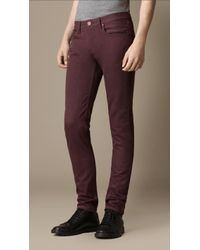 Burberry Shoreditch Dyed Skinny Fit Jeans - Lyst
