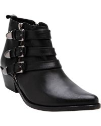 F-Troupe - Triple Buckle Western Boot - Lyst