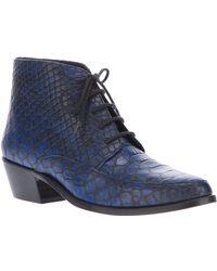 Stine Goya - Moonwalker Moc Croc Boot - Lyst