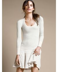 Victoria's Secret W Zigzag Sweaterdress - Lyst