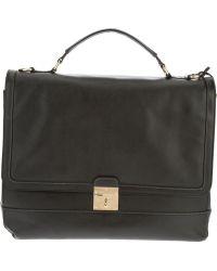 Marc Jacobs - Flap Closure Briefcase - Lyst