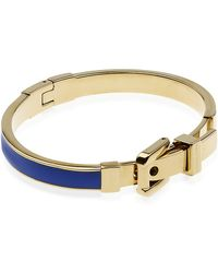 Michael Kors - Enamel Inlay Buckle Bangle - Lyst