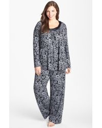 Midnight By Carole Hochman Forever Always Pajamas - Lyst