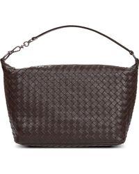 Bottega Veneta Intrecciato Leather Over The Shoulder Handbag - For Women - Lyst