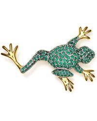 Carolee - Frog Pin - Lyst