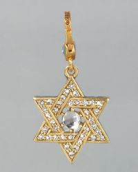 Jay Strongwater - Star Of David Charm - Lyst