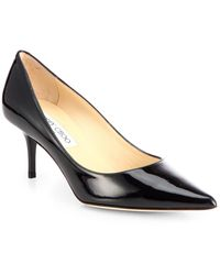 Jimmy Choo Aurora Patent Leather Pumps - Lyst