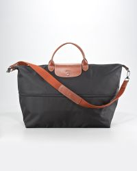 Longchamp Le Pliage Expandable Travel Bag Black - Lyst