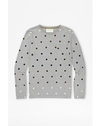French Connection Gradient Polka Dot Tshirt - Lyst