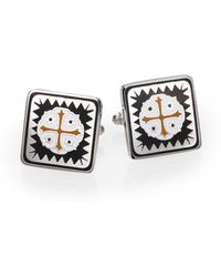 King Baby Studio Shipwreck Cross Cuff Links - Lyst
