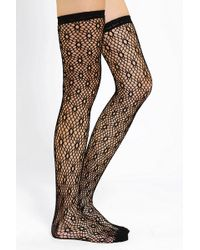Urban Outfitters - Crochet Over the knee Sock - Lyst