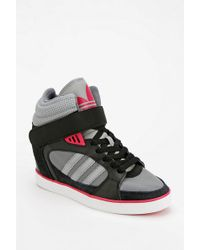 Urban Outfitters - Adidas Amberlight Hidden Wedge Hightop Sneaker - Lyst