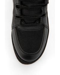 Urban Outfitters - Yru Qozmo Tonal Hightop Flatform sneaker - Lyst