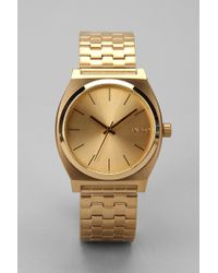 Nixon Metal Time Teller Watch - Lyst