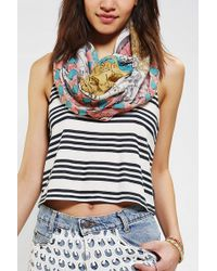 Urban Outfitters - World Traveler Eternity Scarf - Lyst