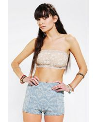 Urban Outfitters - Kimchi Blue Lily Lace Bandeau Bra - Lyst
