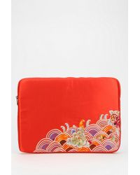 Urban Outfitters - Deena Ozzy Embroidered Laptop Case - Lyst
