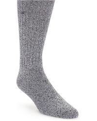 Calvin Klein Ribbed Socks - Lyst