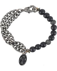 Forever 21 | Cross Charm Bracelet | Lyst