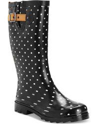 Chooka Classic Dot Rain Boots - Lyst