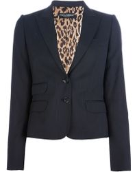 Dolce & Gabbana Pinstriped Trouser Suit - Lyst