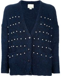 Girl by Band of Outsiders - Pearl Detailed Cardigan - Lyst