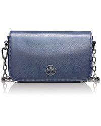 Tory Burch Robinson Ologram Chain Mini Bag - Lyst