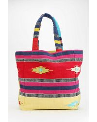 Ecote - Oversized Printed Tote Bag - Lyst