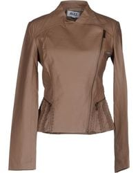 Alice By Temperley Leather Outerwear - Lyst