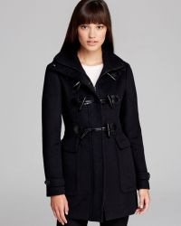 Burberry Coat Dewsfield Toggle Front - Lyst