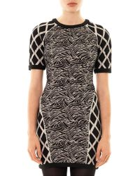 Elizabeth And James Argon Jacquard Bodycon Dress - Lyst