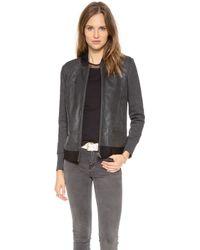 Francis Leon - Muckarun Leather Jacket - Lyst