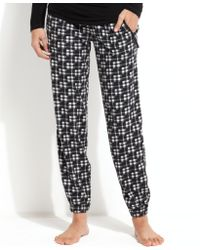 Kensie - Chilled Out Fleece Pyjama Trousers - Lyst