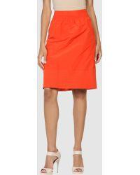 Piazza Sempione Knee Length Skirt - Lyst