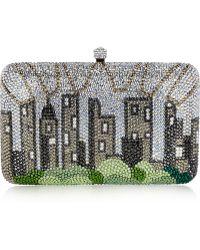Sylvia Toledano - Central Park Swarovski Crystalembellished Box Clutch - Lyst