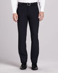 Theory Marlo New Tailor Suit Pant Navy - Lyst