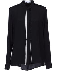 Alexander Wang Long Sleeve Shirt - Lyst