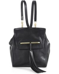 B Brian Atwood - Juliette Leather Small Backpack - Lyst