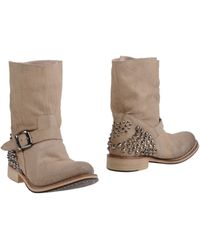 Twin-set Simona Barbieri Ankle Boots - Lyst