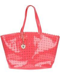 Twin-set Simona Barbieri Large Fabric Bag - Lyst