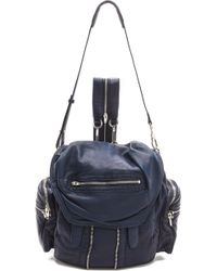 Alexander Wang Marti Washed Backpack - Lyst